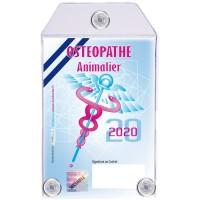 Caducée Ostéopathe Animalier 2020